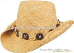 8mm width brim raffia Straw braid Hat