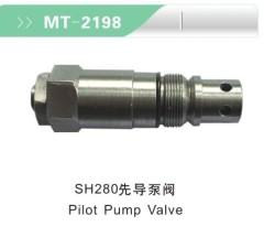 SH280 PILOT PUMP VALVE FOR EXCAVATOR