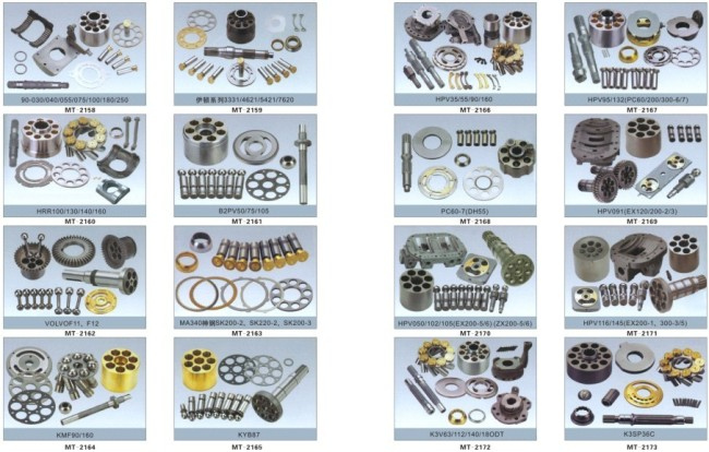 HRR100/130/140/160 HYDRAULIC SPARE PARTS