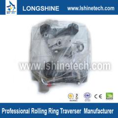 Traverse drive linear roller bearings