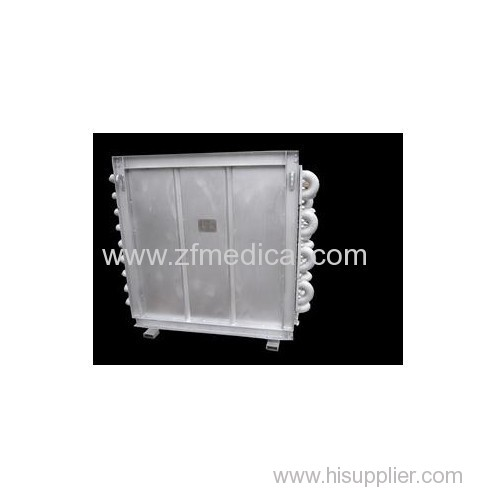 Industrial spiral fin tube economizers