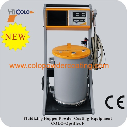 multi cyclone powder spray booth