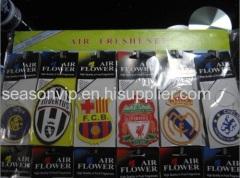 FC Barcelona hanging paper air freshener