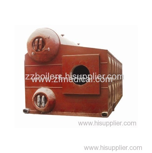 "SZS series ""D"" type oil and gas boilers"