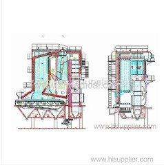 water tube SHL Series Field Assemble Chain Grate Boilers
