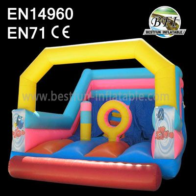 Small Inflatable Jumping House Slide Indoor
