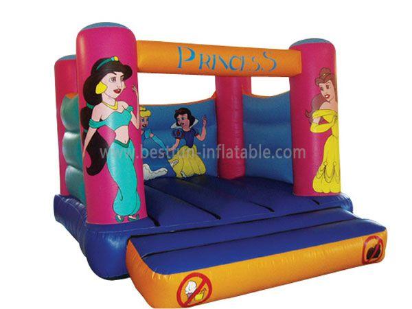 Beautiluf Littler princess Bounce House