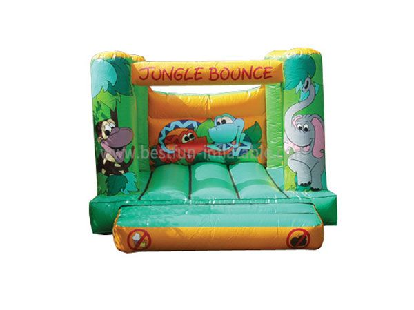Elephant Little Jungle Inflatable Bounce