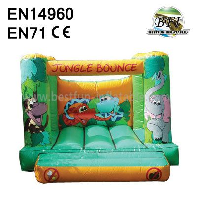 Little Jungle Inflatable Bouncer