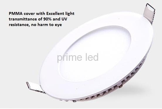18W Dia.240mm Panel LED Downlight