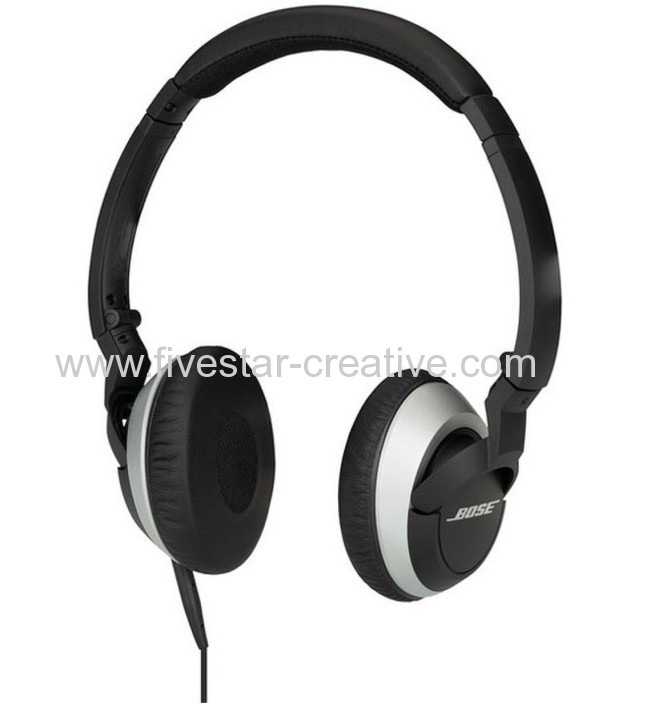 Bose OE2i On-Ear Audio Headphone with Mic and Remote Black