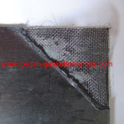 reinforced graphite gasket sheet with wire mesh