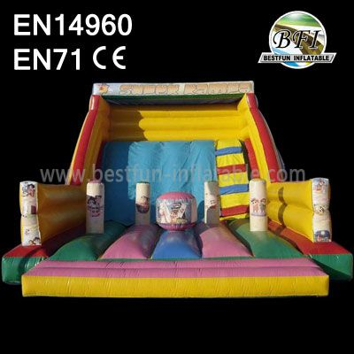 Kids Inflatable Jumping House Slide