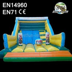 Inflatable Playground and Dry Slide