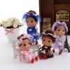 12cm plastic fashion doll confused doll