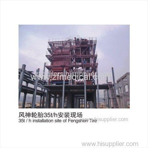 Vertical SHX Series Circulating Fluidized Bed Boilers