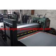 Non-asbestos composite rolling composite process