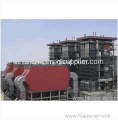 Industrial energy saving circulating fluidized bed boilers