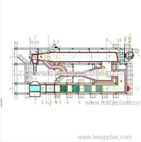 Vertical Energy Saving Circulating Fluidized Bed Boilers
