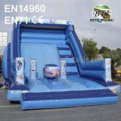 Under the Sea Shark Inflatable Slide