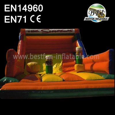 High Quality Obstacle Climb And Slide Inflatable