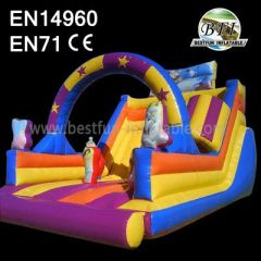 Princess Inflatable Slide For Sale