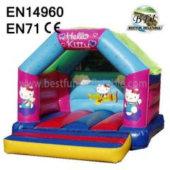 Colorful Inflatable Hello Kitty Bouncer
