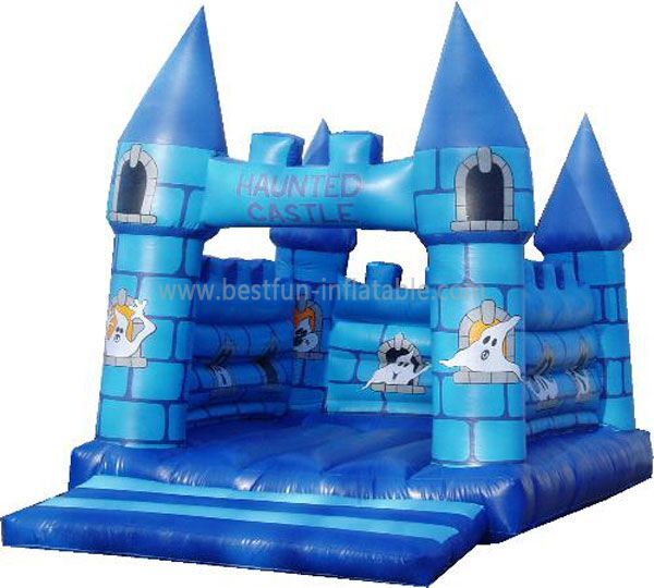 Funny Inflatable Bouncy Haunted Castle