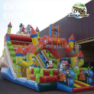 Disney World Amusement Park Inflatable Slide