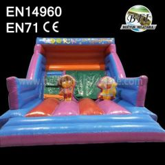 Colorful Inflatable Playground Slide