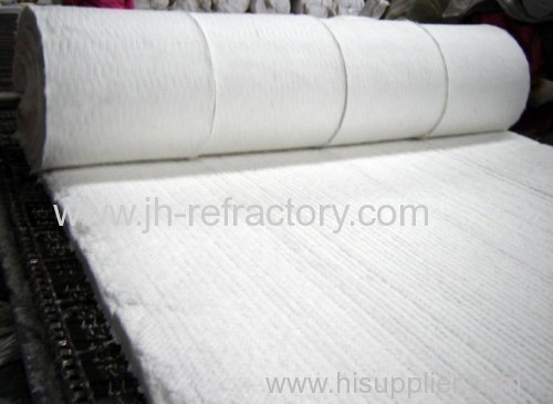 High temperature fire resistant insulation ceramic fiber for Glass fiber blanket insulation