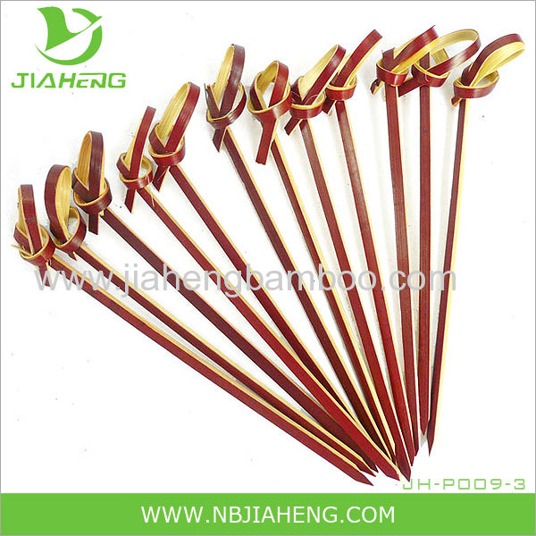 Natural One PointRound Bamboo Skewers