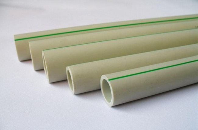 PPR tube for hot and cold water supply system