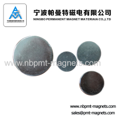 Neodymium Ring Magnet With Zinc/Nickel Plating