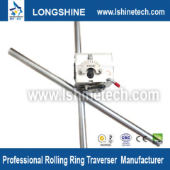 Rolling ring drive linear stepper