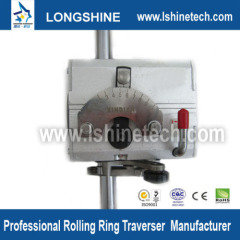 Polished shaft rolling ring drive linear motion system