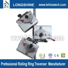 Polished shaft rolling ring drive linear bushing