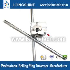 Polished shaft rolling ring drive linear slider