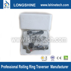 Polished shaft rolling ring drive linear motion tables