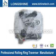 Polished shaft rolling ring drive linear motion motor