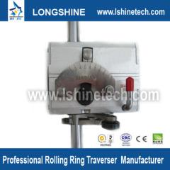 Polished shaft rolling ring drive linear bushings