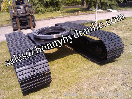 drilling machinery steel track undercarriage
