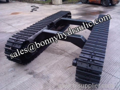 mining machinery steel track undercarriage steel track system