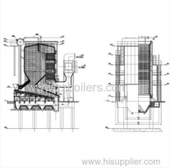 Reciprocating Grate Hot Water Biomass Boilers