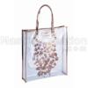 pvc gift bag, pvc handbag, pvc tote, plastic handbag, printed pvc bag, promotional bag,market bag