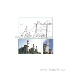 Industrial Gas Steam Turbine Waste Heat Boilers