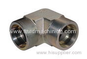 Flareless Compression Union 90°