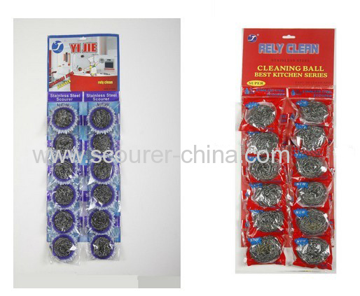 Super cleaning/ Heavy-duty/ stainless steel spiral scourer