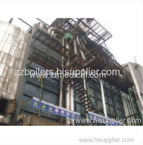Industry Three Castoff Mix Burning and Blown Gas Waste Heat Boilerls