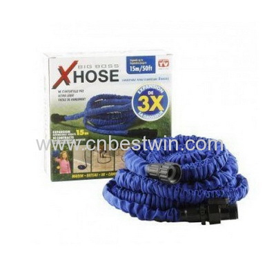 Water hose/ Expandable hose/Garden hose/Washing car hose,2014 Garden X Expandable Hose,50ft include water spray gun